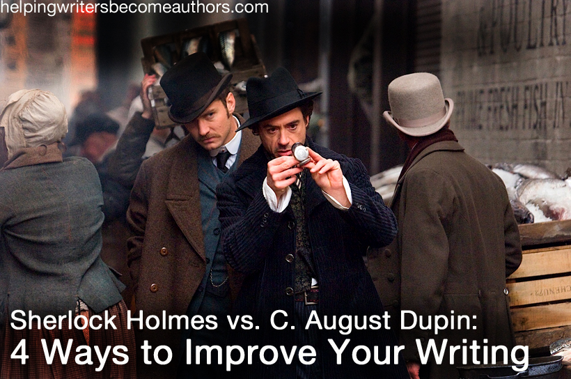 sherlock holmes vs c e dupin ways to improve your  sherlock holmes improve your writing
