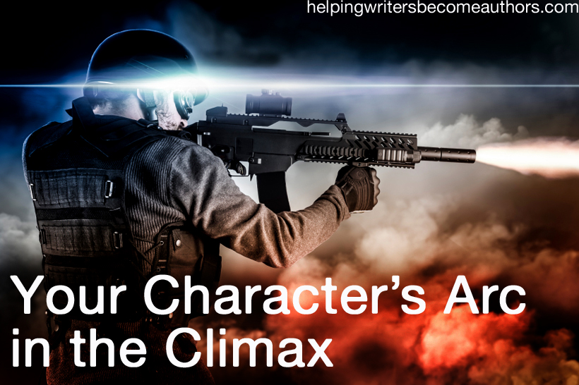 Creating Stunning Character Arcs, Pt. 14: The Climax