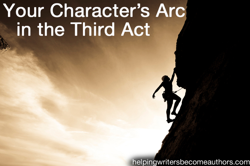 your character's arc in the third act