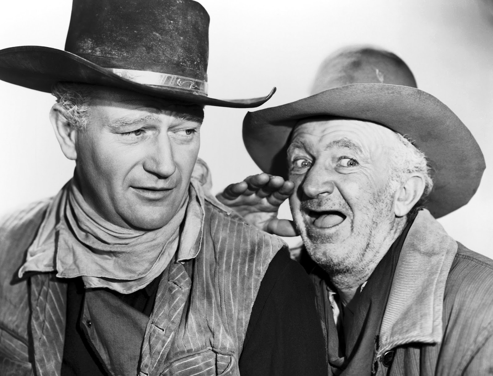 Nadine Groot in Red River John Wayen and Walter Brennan