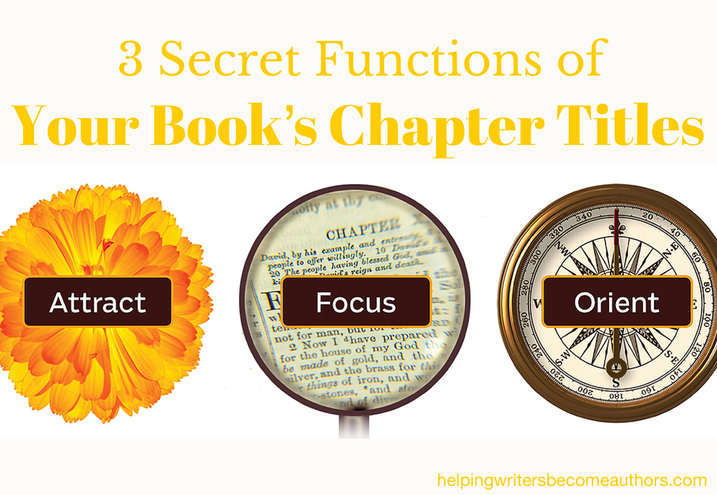 3 Secret Functions of Your Book's Title
