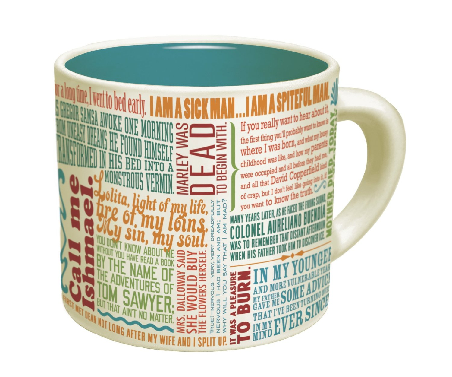 Great First Lines of Literature Mug