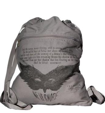 Raven Literati Handbag Edgar Allen Poe