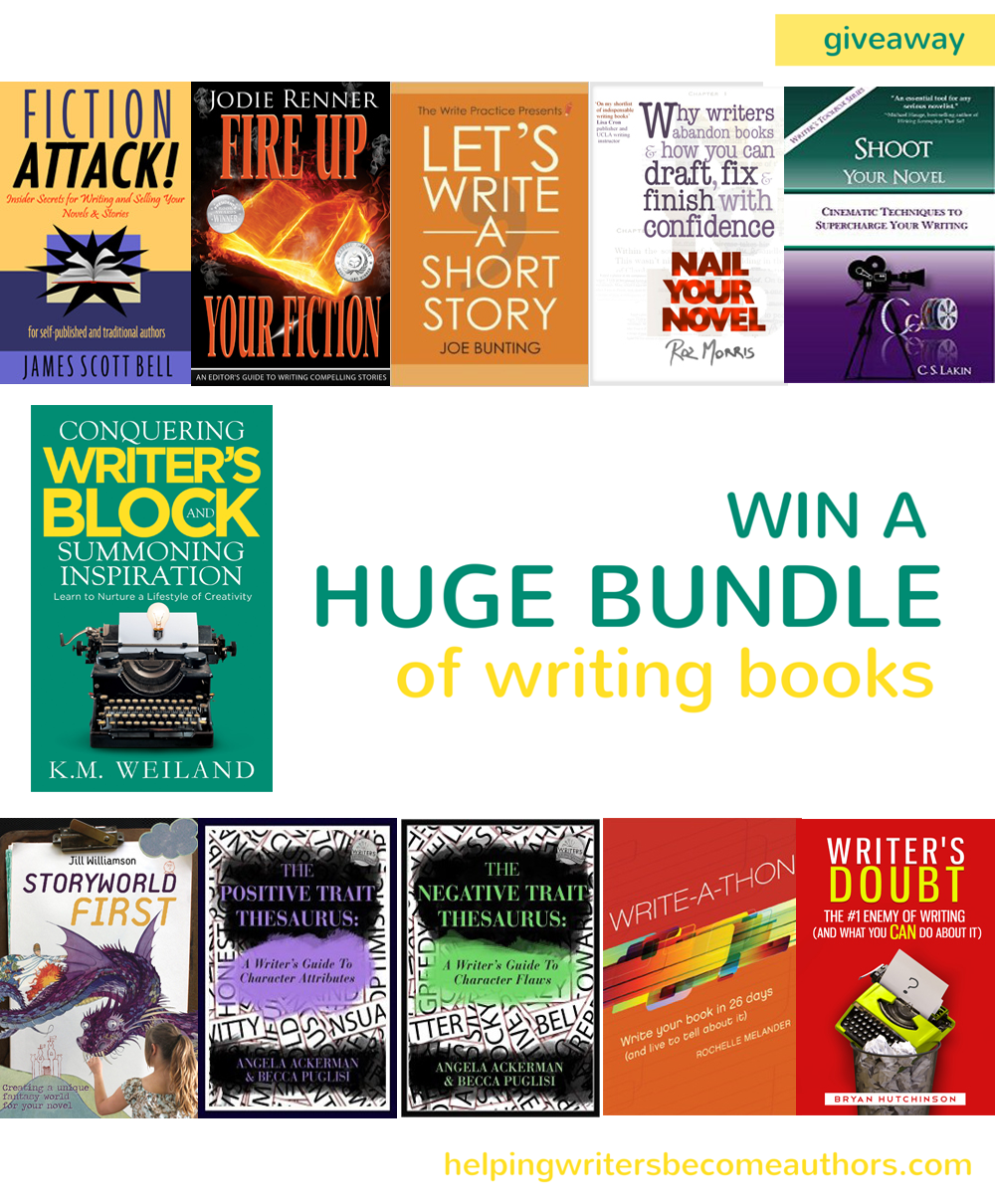 Win a Huge Bundle of Writing Books