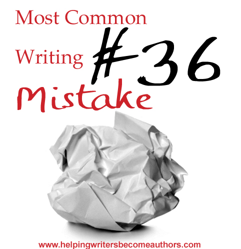Most Common Writing Mistakes, Pt. 36: Too Much Introspection, Not Enough Interaction