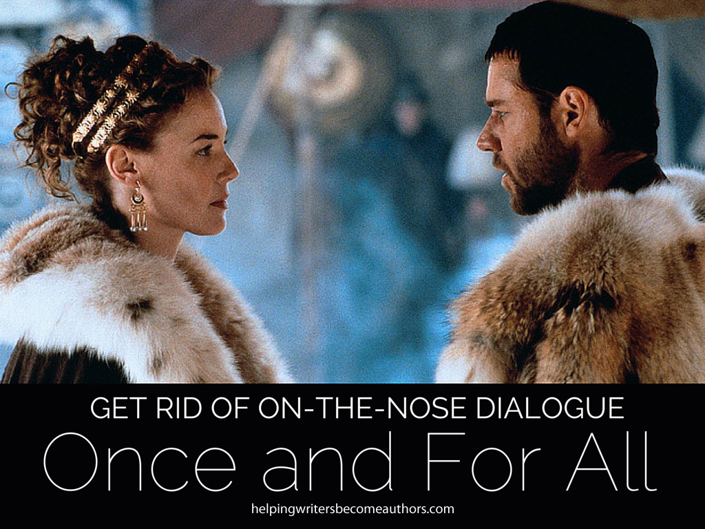 Get Rid of On-the-Nose Dialogue Once and for All