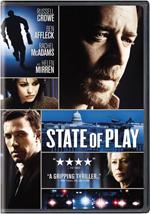 State of Play Russell Crowe Ben Affleck Helen Mirren Rachel McAdams Robin Wright Penn Jeff Daniels
