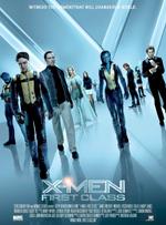 X-Men First Class James McAvoy Jennifer Lawrence Michael Fassbender