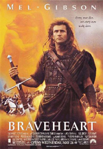 Braveheart William Wallance Mel Gibson