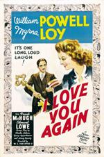 I Love You Again WS Van Dyke William Powell Myrna Loy