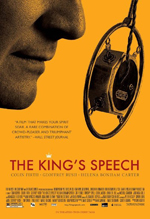 King's Speech Colin Firth Helena Bonham Carter Geoffrey Rush Tom Hooper