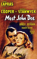 Meet John Doe Frank Capra Gary Cooper Barbara Stanwyck Edward Arnold Walter Brennan