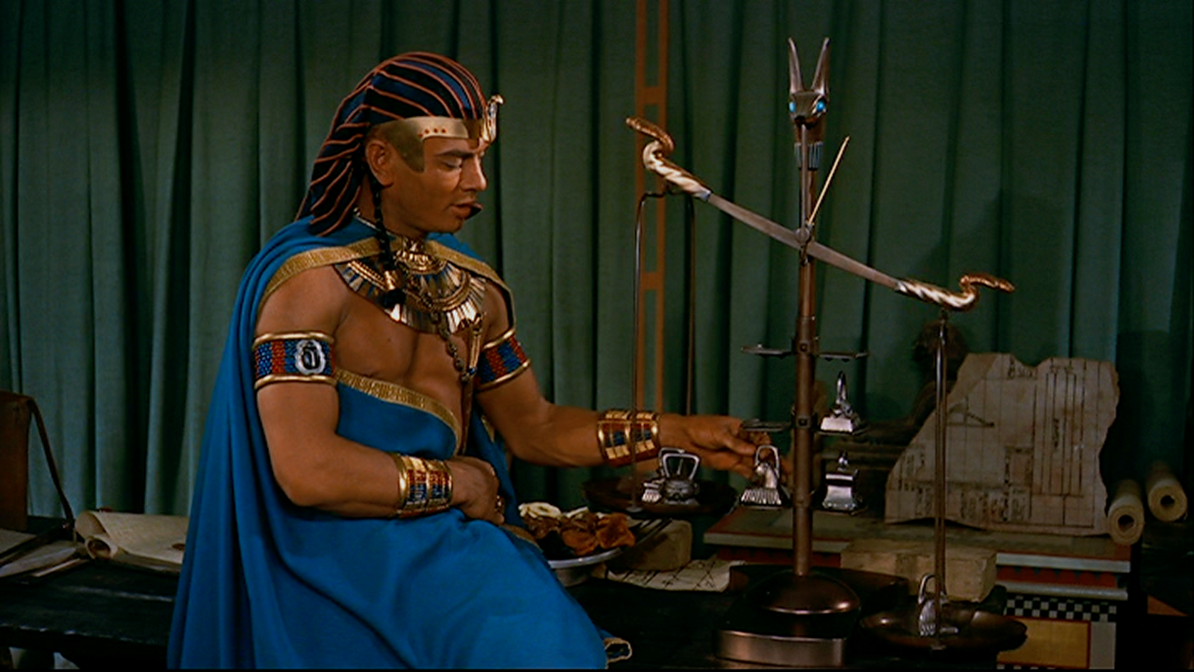 The Ten Commandments Cecil B. Demilla Yul Brynner Ramses