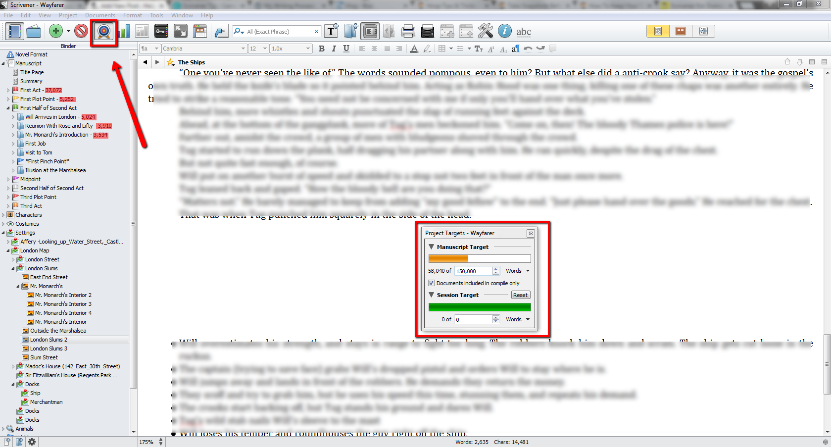 Writing_Process_Scrivener_Project_Targets