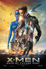 X-Men Days of Future Past James McAvoy Jennifer Lawrence Michael Fassbender Hugh Jackman
