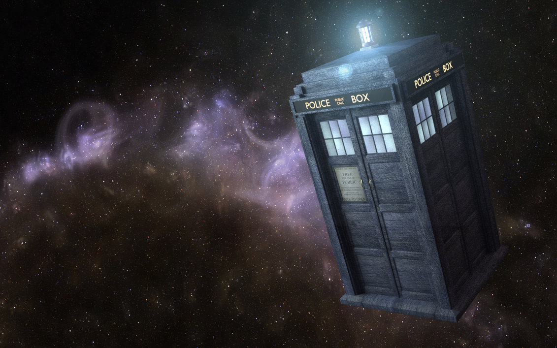 TARDIS Doctor Who Space