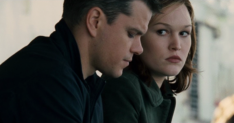 Matt Damon Julia Stiles Jason Bourne Nicky Parsons Ultimatum
