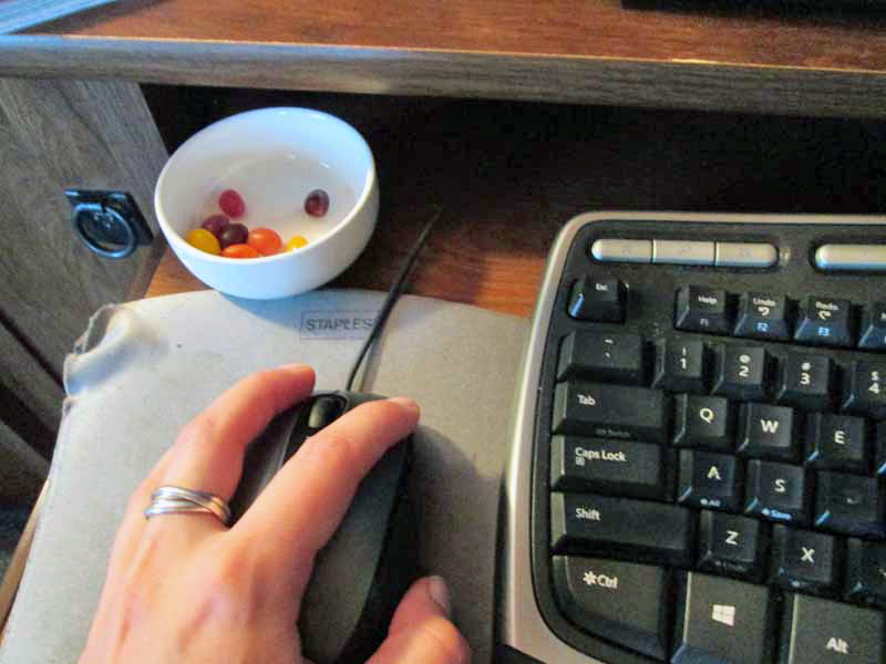 Editing With Jelly Beans