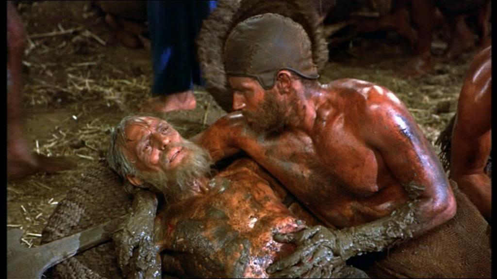 Charlton Heston Ten Commandments mud pit