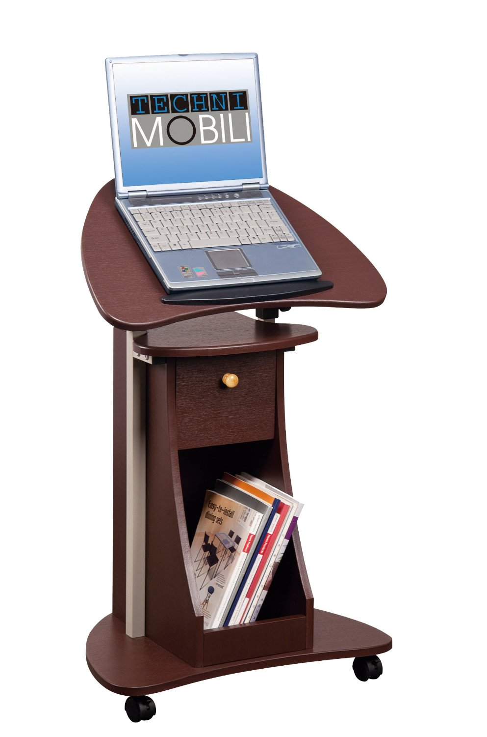 21 Rolling Laptop Cart Desk