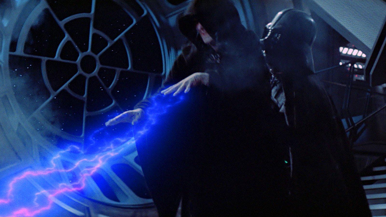 Vader kills the Emperor Star Wars Return of the Jedi