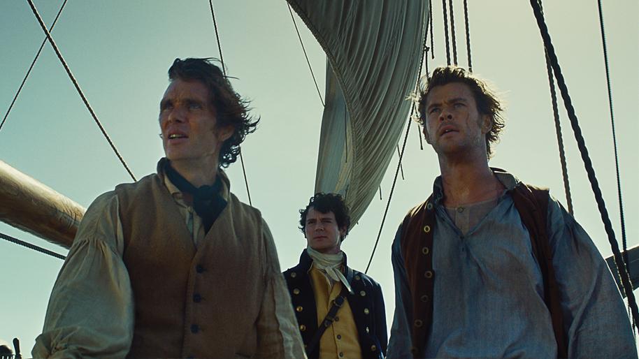 In the Heart of the Sea Cillian Murphy Chris Hemsworth Benjamin Walker