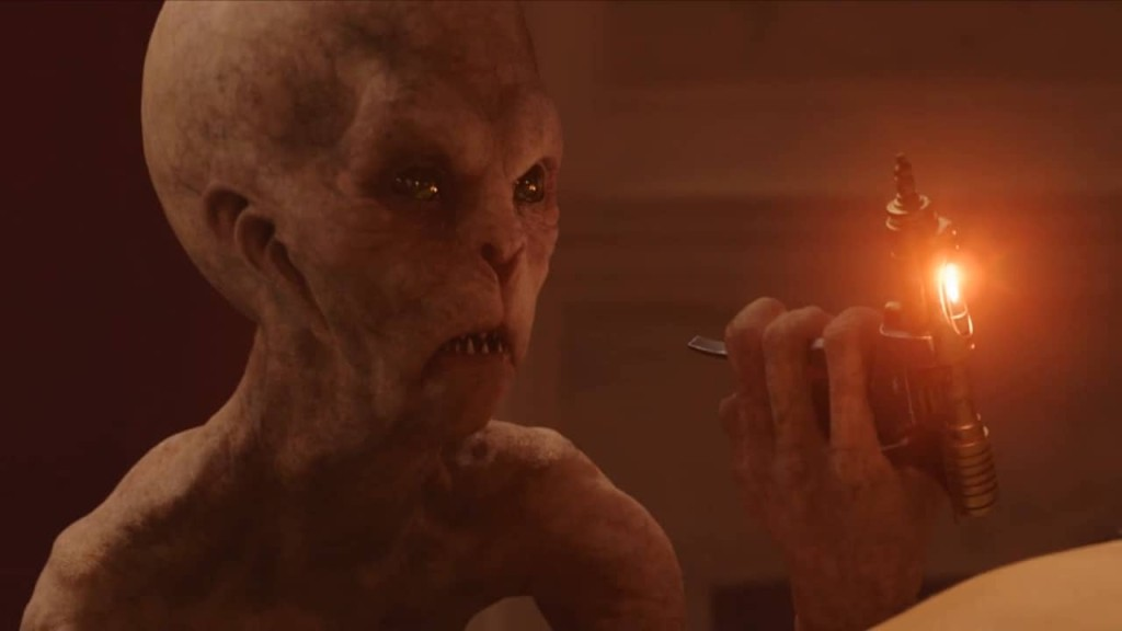 Keeper Alien in the First Act of Jupiter Ascending