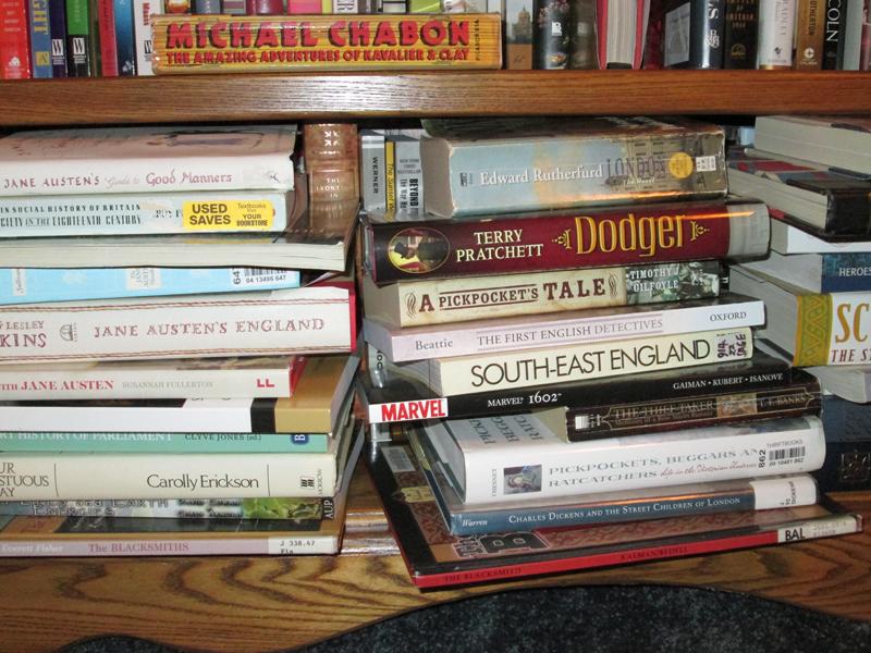 Novel Research for Wayfarer by K.M. Weiland
