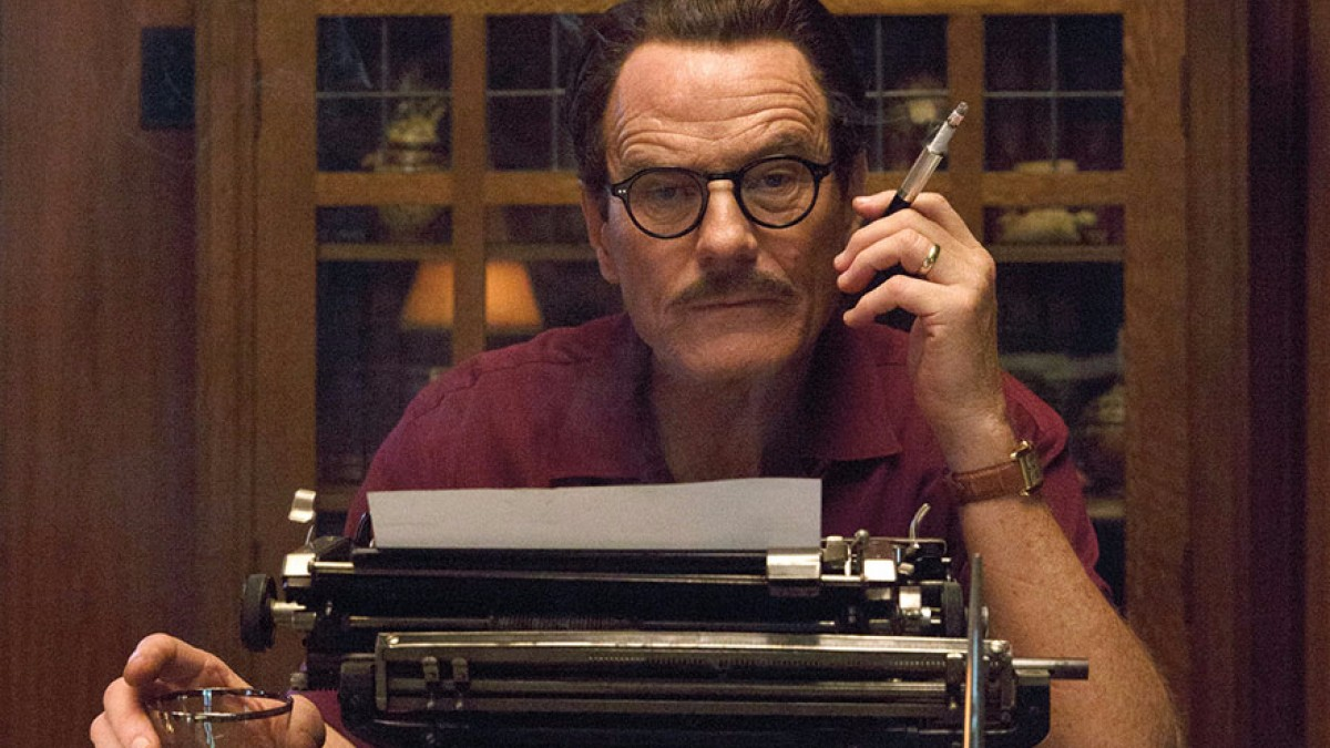 Bryan Cranston Trumbo Typewriter
