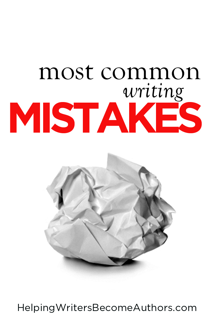most common writing mistakes