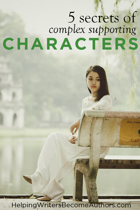 5 Secrets of Complex Supporting Characters Pinterest