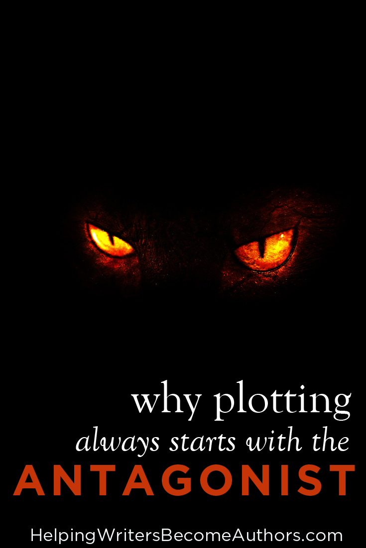 why plotting always starts with the antagonist pinterest
