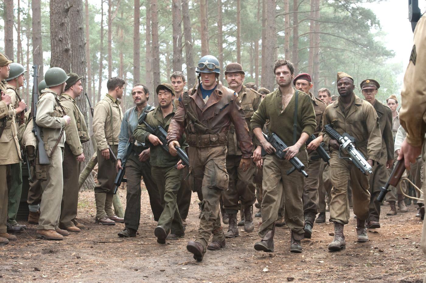 Captain America First Avenger World War II