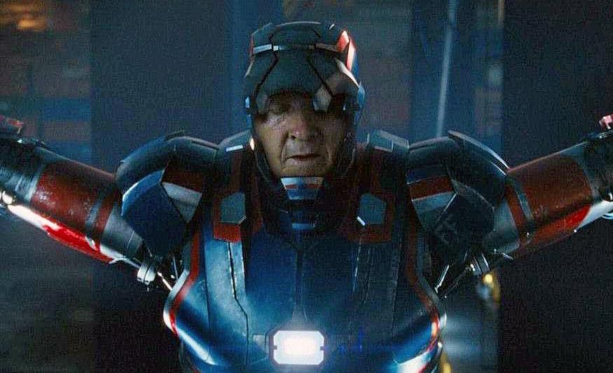 Iron man 3 President