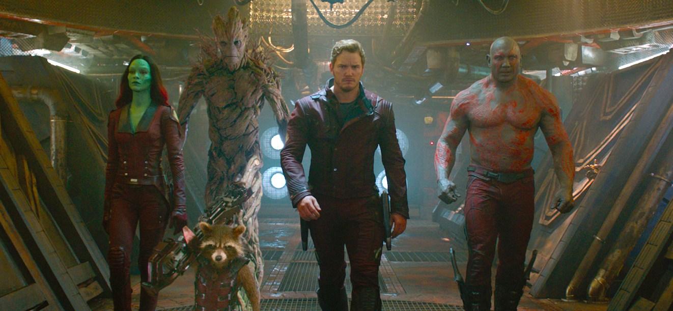 Guardians of the Galaxy Hero Walk