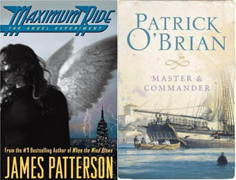Maximum Ride James Patterson Master and Commander Patrick O'Brian