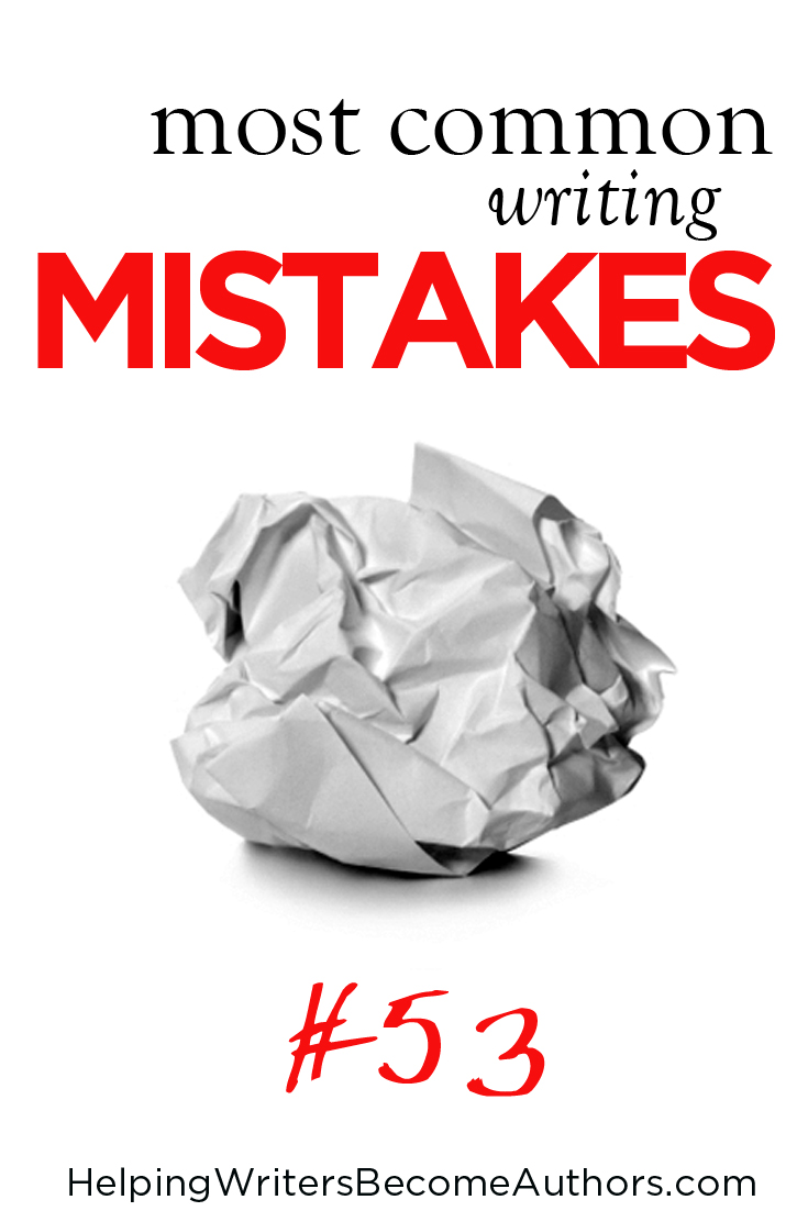 Most Common Writing Mistakes, Pt. 53: No Contractions in Dialogue