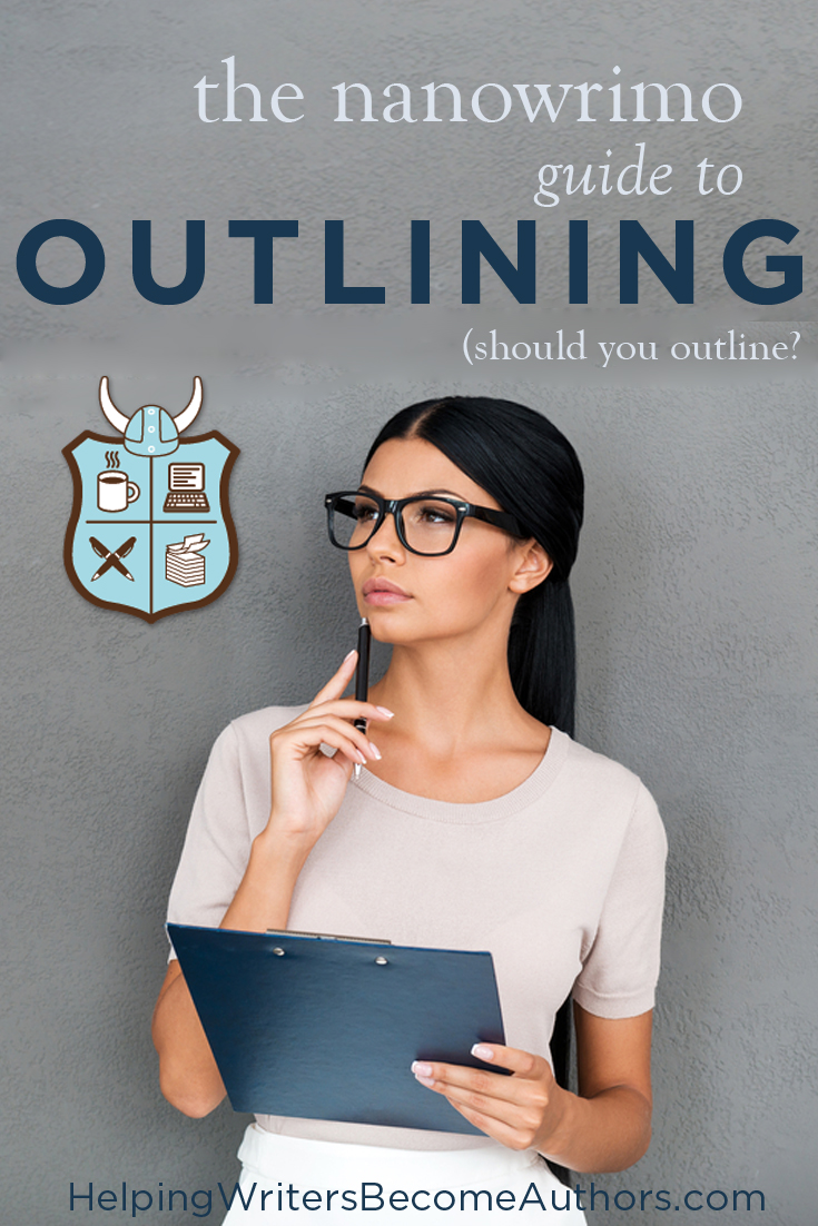 How to Outline for NaNoWriMo: Should You Outline Your Novel?