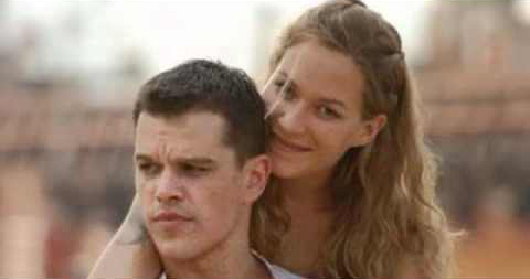 Jason Bourne and Marie Franka Potenta Matt Damon