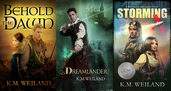 K.M. Weiland Novels Behold the Dawn Dreamlander Behold the Dawn