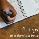 5 Steps to A Thorough Book Edit