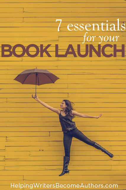 7 essentials for your book launch Pinterest