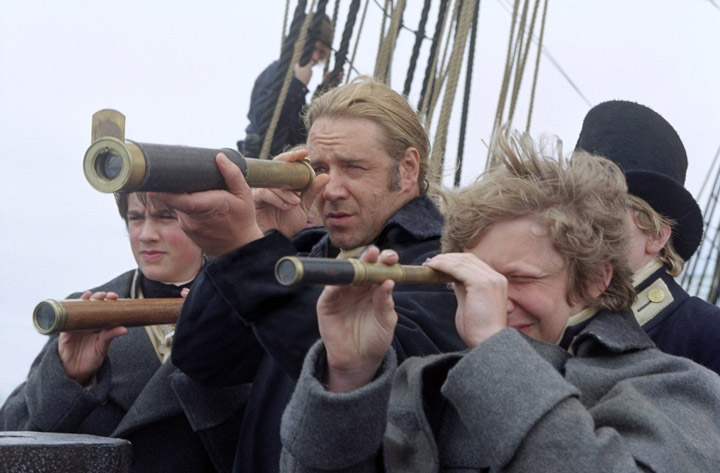 Master and Commander Russell Crowe