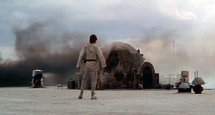 Star Wars Homestead Burning
