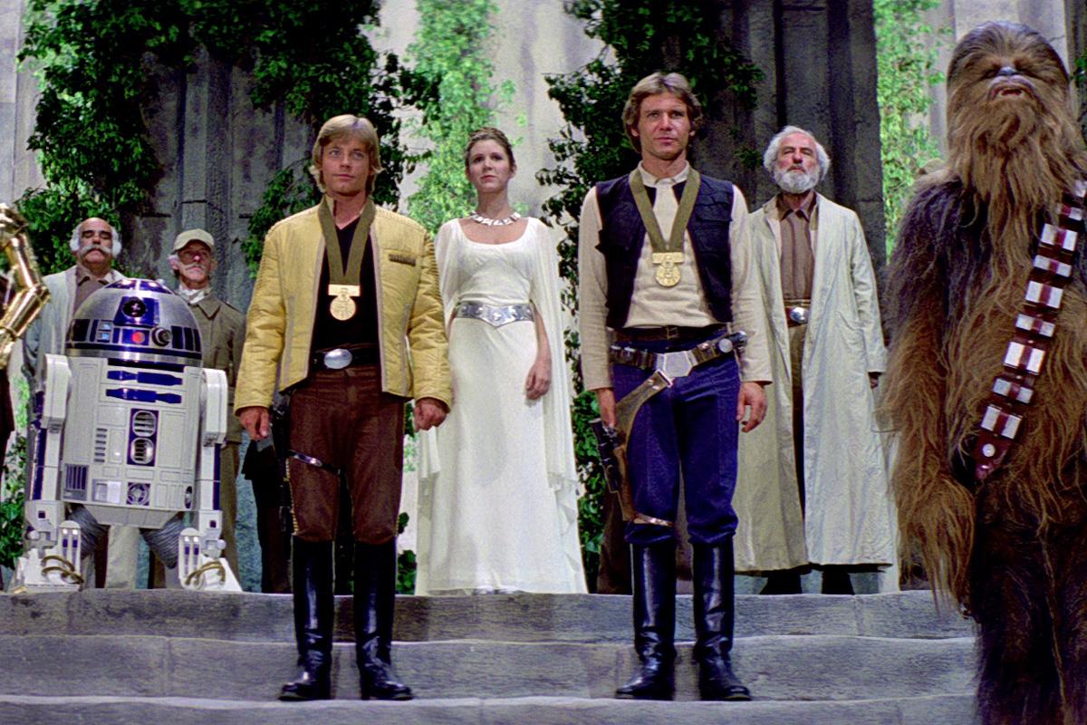 Star Wars New Hope Ending
