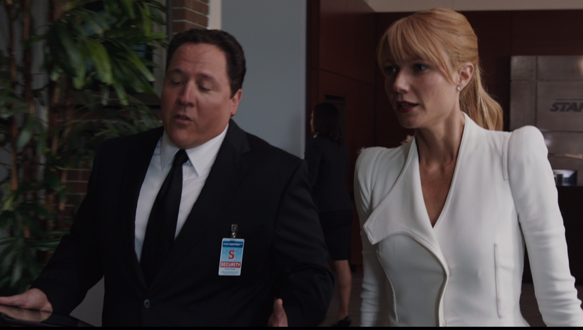 Iron Man 3 Happy Hogan Pepper Potts Jon Favreau Gwyneth Paltrow
