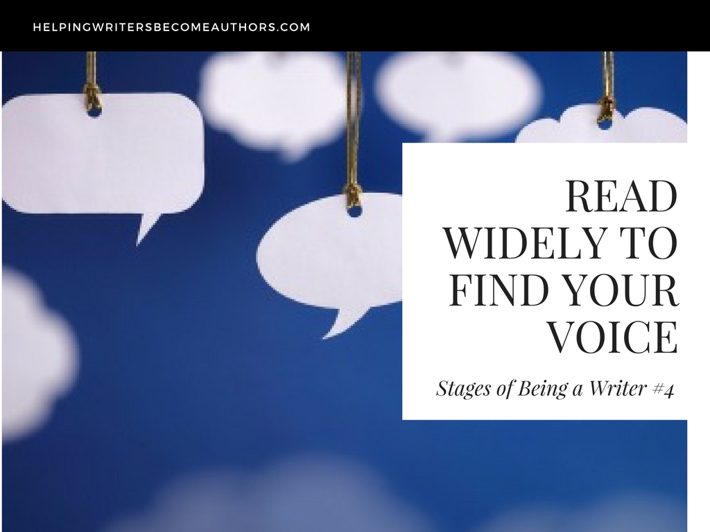 Stages of Being a Writer 4 Read Widely to Find Your Voice