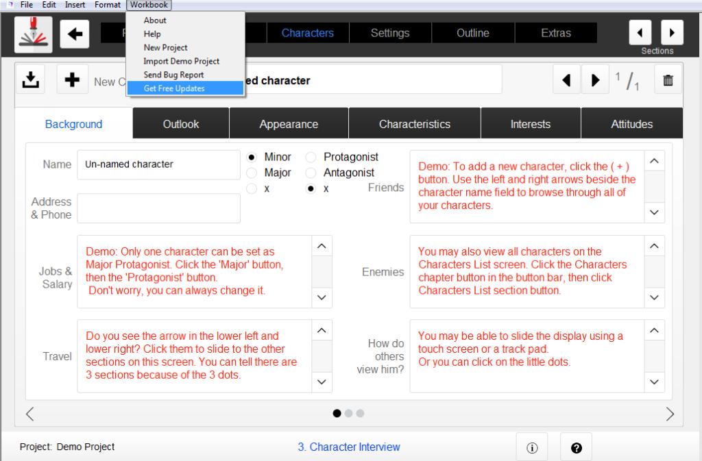 Get Free Updates Outlining Your Novel Workbook Software