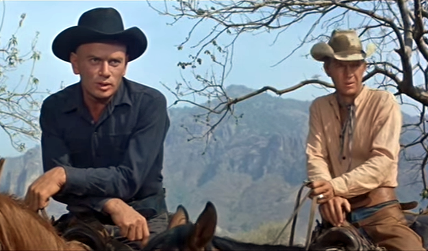 Magnificent Seven Ending Yul Brynner Steve McQueen Only the farms have won