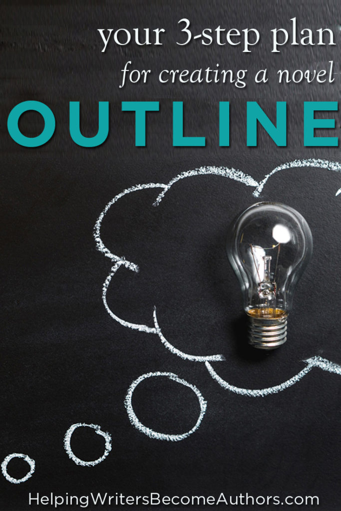 Your 3-Step Plan for Creating A Novel Outline